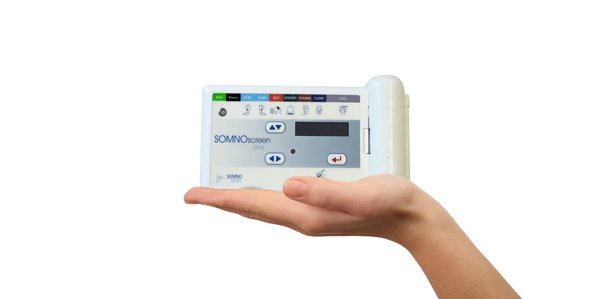 SOMNOscreen plus, Basisgerät SOMNOscreen plus, Polysomnographie, PSG, Basisgerät, ambulant & Stationär, höchste Signalqualität, etabliert, verlässlich