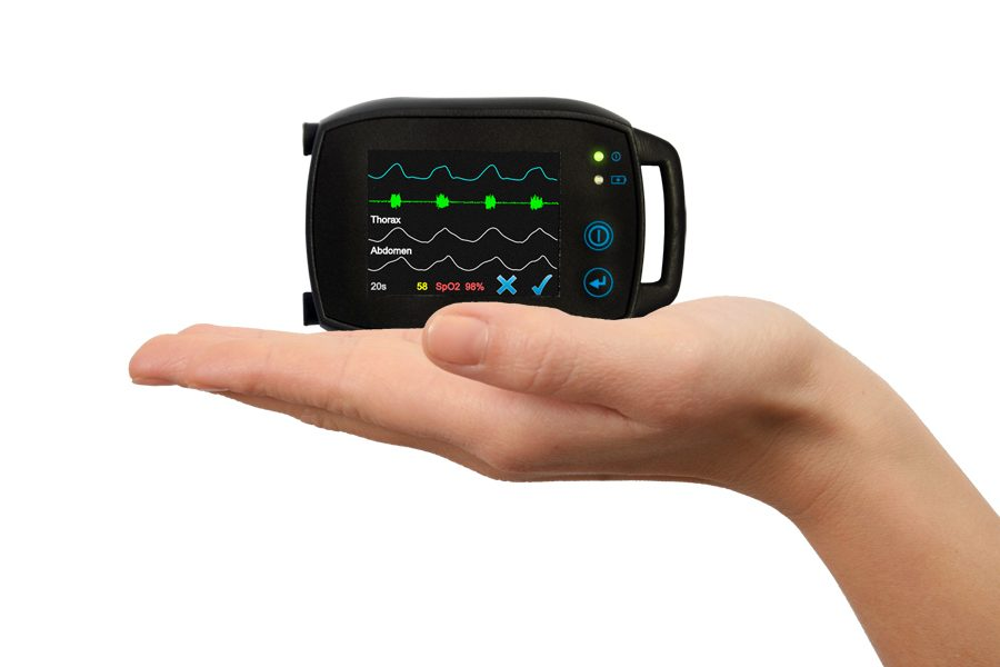 A very powerful simplified PSG device that fits in the palm of your hand.