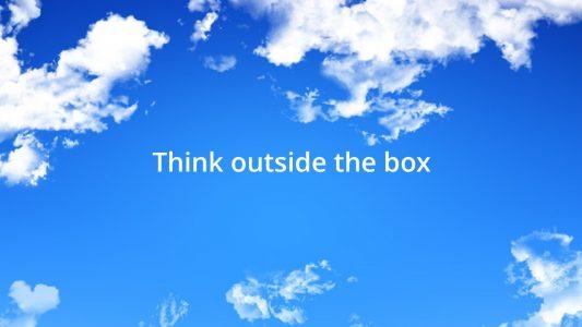Thinkoutsidethebox