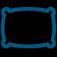 Pillow Icon-blue