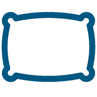 Pillow Icon-blue
