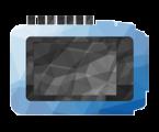 A SOMNOmedics polygon icon of the SOMNO HD PSG sleep diagnostic device. products