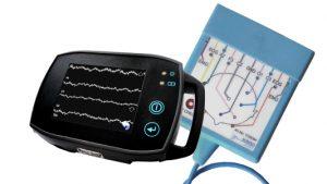 Klein, leicht und leistungsstark – die neue SOMNOtouch bietet eine volle Polysomnographie nach AASM sowie die Möglichkeit, eine nach AASM geforderte Videoaufzeichnung beim Patienten zuhause durchzuführen.