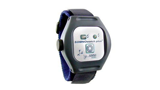 SOMNOwatch™ plus ist ein Medizingerät für Polygrahie der SOMNOwatch plus von Somnomedics GmbH - Medizintechnikunternehmen. Blutdruckmessgerät für NASA