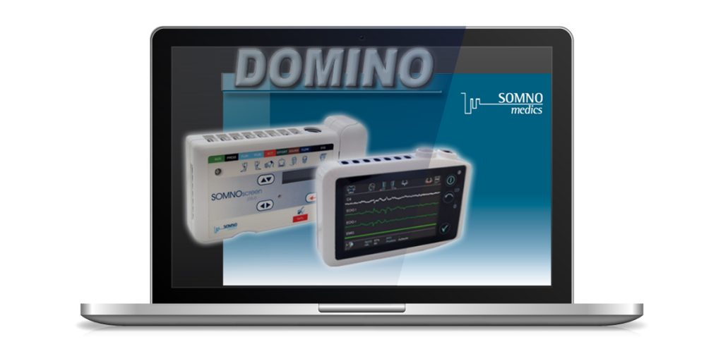 The DOMINO software is developed and programmed in house to work in harmony with our sleep diagnostic devices.