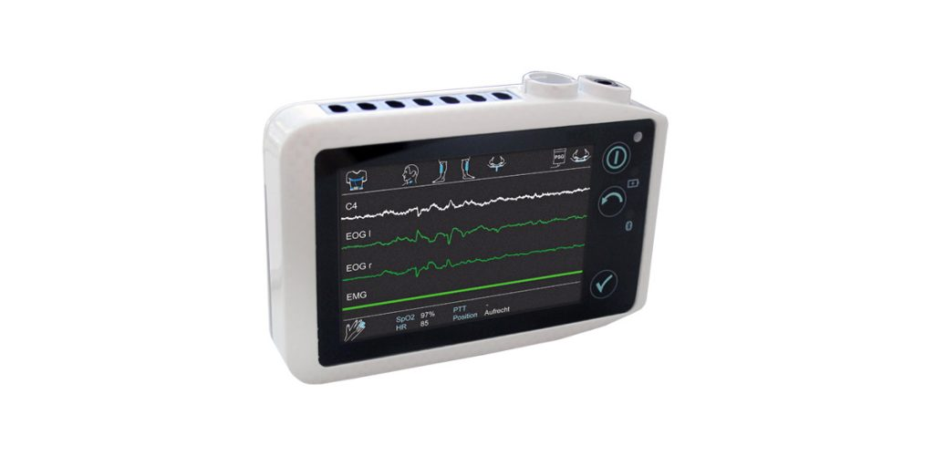SOMNOscreen HD in-lab PSG - The SOMNOscreen HD - SOMNOmedics most powerful PSG device.