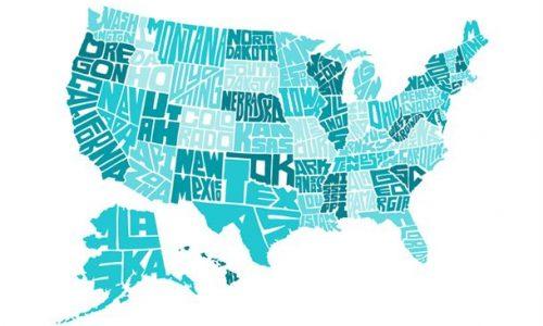Cool Usa Map