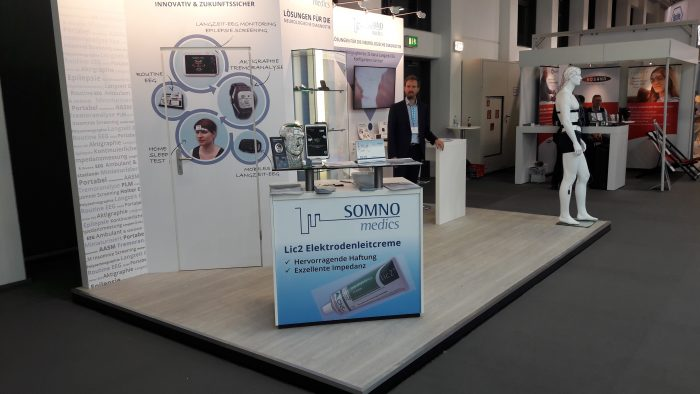 Our stand is ready - with innovative products specifically for Neurology diagnostic applications.