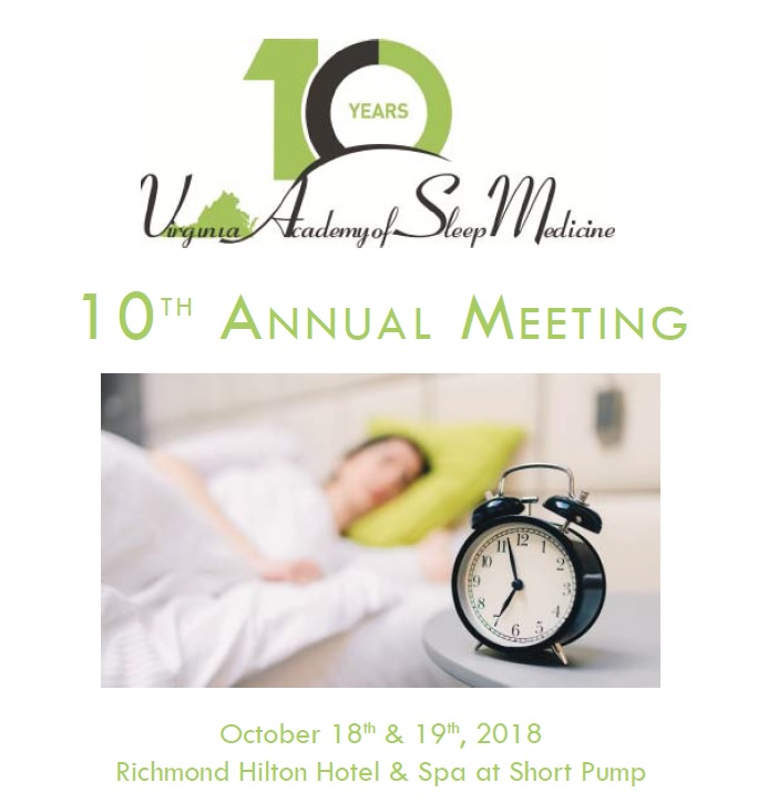 VASM 2018 10th Annual meeting attended by SOMNOmedics USA - we showcased our SOMNOscreen HD a new generation of portable sleep diagnostics.
