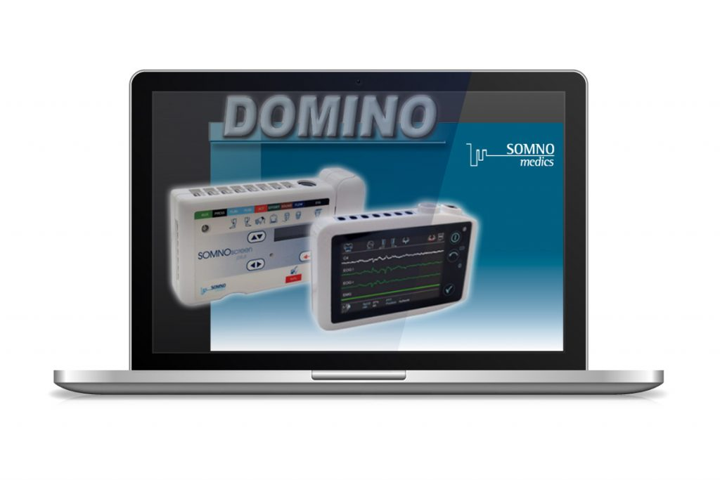 DOMINO diagnostic software from somnomedics. Powerful, configurable and easy to use.