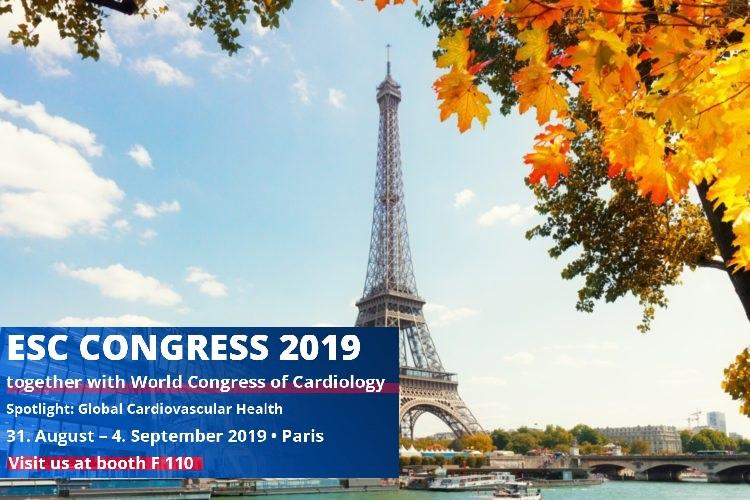 ESC Congress 2019 SOMNOmedics booth F110