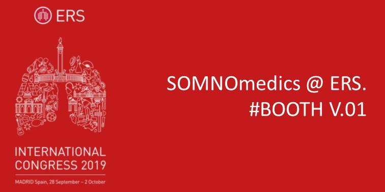 SOMNOmedics at ERS 2019 - SOMNOmedics ERS2019 Booth V.01