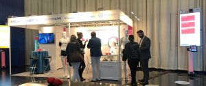 SOMNOmedics stand at the Germany Society of hypertension 2019 was very busy