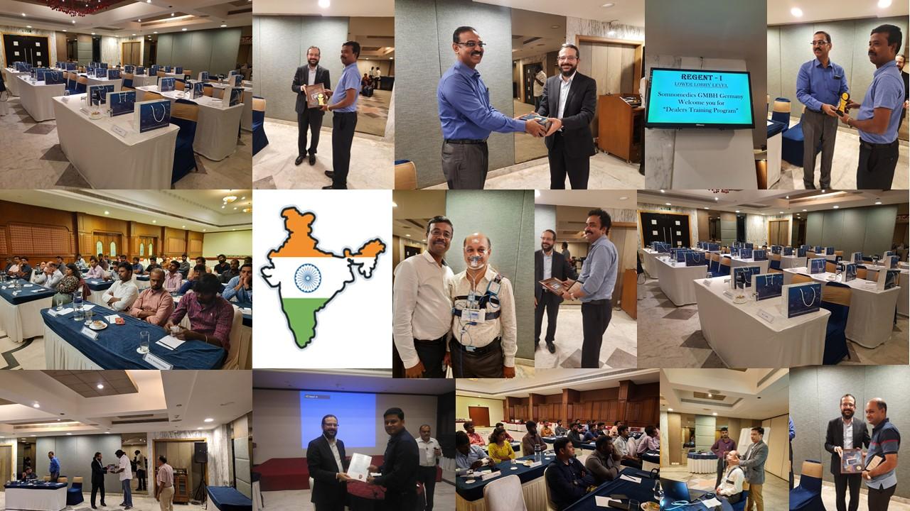 SOMNOmedics Clinical training india 2019